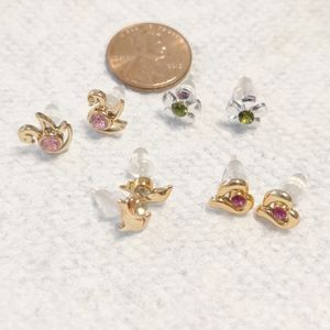 Jewelry - Jewelry Fashion - 4 pairs stud earrings